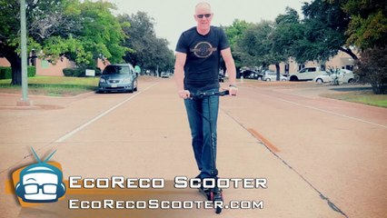 Review: EcoReco M3 Electric Scooter - GeekBeat.TV
