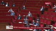 Loi anti-terrorisme au sénat : début des travaux parlementaires