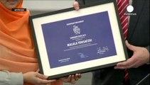 Le Nobel de la paix décerné à Malala Yousafzai et Kailash Satyarthi