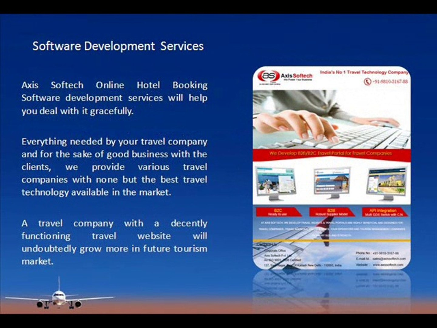 Make Online Travel Agency Website for Tickets Booking
