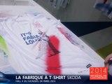 Créez votre T-Shirt Fabia sur le stand Skoda du Mondial Auto 2014