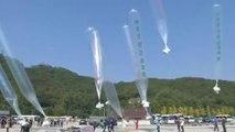 Des tracts anti-dictatures envoyés dans des ballons en Corée du Nord