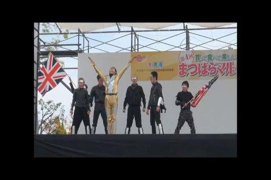 第4回松原マルシェ しんケル&マイケルを踊る会(MJ関西) 2013.11.10