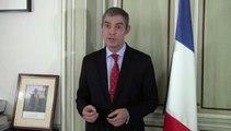 Ebola: mensaje del Embajador de Francia en España (10.10.14)