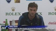 Tennis: nouvelle demi-finale pour Gilles Simon à Shanghai