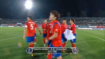 Все голы матча · Южная Корея - Парагвай - 2:0