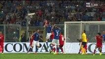 Italia - Azerbaigian gol di Chiellini