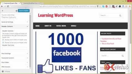 08 - Manage Menus - WordPress 4.0 Tutorial in Urdu/Hindi