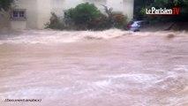 Inondations à Nîmes : «Une vague qui casse tout»