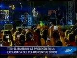 Guayaquileños disfrutan de los conciertos por las fiestas octubrinas
