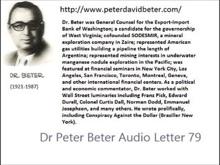 Dr Peter Beter Audio Letter 79 - September 30, 1982 - The Aborted Plan for Surprise Nuclear War; The Beirut Massacre for War to Come; The Return of the Siberian Express Weather War