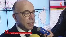 Intempéries dans le Gard : le ministre de l'Intérieur appelle à maintenir la vigilance