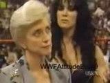 WWF Stone Cold Steve Austin saves Vince Mcmahon and Linda Mcmahon