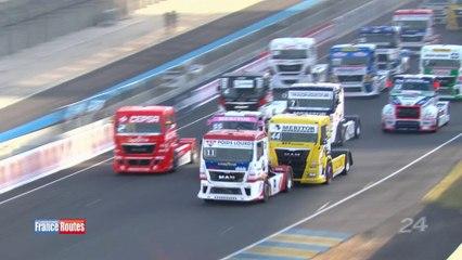 24 Heures Camions 2014 - Championnat d'Europe Camions de la FIA : Départ de la course 2