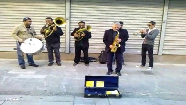 Nik The Greek - Street Musicians in Thessaloniki, Greece