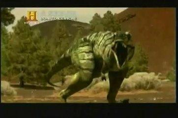 O caçador de T-Rex- Tiranossauro vs Nanotirano