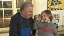 A Tiny Fan Meets His Idol Jacques Pepin