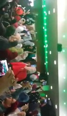Great Entry of Dr. Tahir ul Qadri alongwith Mubashir Luqman in Birmingham, UK