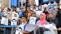 شاهد|| وقفة أمام نقابة «الصحفيين» للمطالبة بالإفراج عن مراسل «الجزيرة»