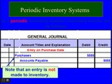 Financial Accounting online Tutorial 7   Periodic Inventory System , JIT, FOB, Gross Profit method, Inventory turn over rate, LIFO, FIFO, Specific Identification, Average inventory calculation.