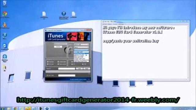 Comment avoir des code iTunes gratuit - générateur de cartes cadeaux 2014 (Téléchargement Gratuit)