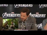 The Avengers Interviews with Robert Downey Jr., Chris Evans, Chris Hemsworth, Mark Ruffalo