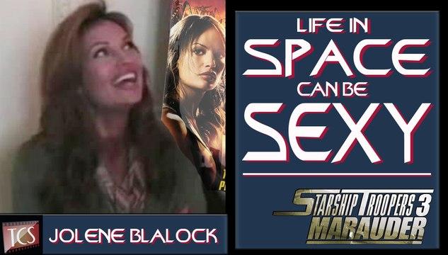 Starship Troopers 3 - Jolene Blalock Comic-Con Interview