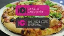 Recette de la pizza jambon de Parme, mozzarella et chèvre