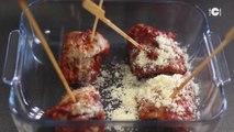 Saltimbocca de veau tomate mozzarella et jambon de Parme - recette Italienne : CuisineAZ