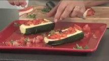 Recette de courgettes farcies à la mozzarella