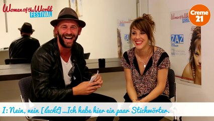 Backstage Interview Zaz by WOTW Festival & Creme21