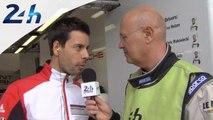 Journée Test des 24 Heures du Mans 2014 - interview de Frederic Makowiecki