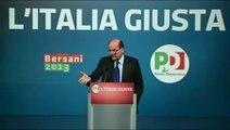 Bersani - Noi vogliamo bene all'Italia (08.02.13)
