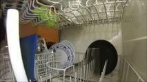 GoPro inside a dishwasher - Full wash cycle footage!