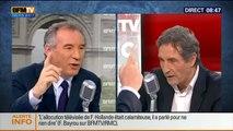 Bourdin Direct - Affaire Bygmalion : Interview de François Bayrou