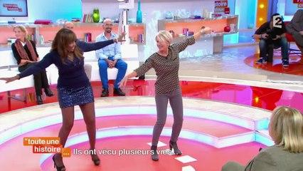 Sophie Davant danse sur Alexandrie, Alexandra