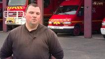 Arnaud Consonni sapeur-pompier volontaire