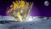 Ricercatori della NASA che controllano la Luna per gli impatti di meteoriti hanno rilevato l'esplosione più brillante nella storia.Esplosione luminosa sulla Luna. Impatto di meteorite - Bright Explosion on the Moon. Meteoroid impacts WWW.GOODNEWS.WS