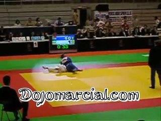 Judo Internacional - ippon de Suki Nage o Te Guruma de contra - Artes marciales