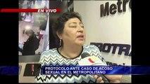 Entérese cuál es el protocolo para denunciar el acoso sexual en el Metropolitano