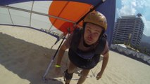 Funny Hang Gliders Fail | Beach Landing Gone Wrong