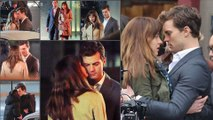 Fifty Shades Of Grey Compilation - FIRST KISS, Audi Scene - Christian Grey,Anastasia Steele
