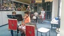 Peter Gunn Study at Band, Bando ile Peter Gunn çalışması 31/05/14