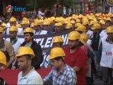 Soma'da yaşamını yitiren 301 madenci için yürüyüş düzenlendi