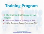 PHP 6 Month/weeks Industrial Live Project Training in Gurgaon Delhi NCR