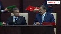 1cumhurbaşkanı Gül ile Türkmenistan Cumhurbaşkanı Berdimuhamedov Ortak Basın Toplantısı Düzenledi