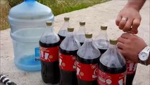 19 Liters Coke vs  Mentos & Salt!