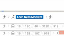 Google Maps UK Directions Include Routes Via Loch Ness Monster, Dragons
