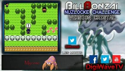 [BillBonzai] Le nuzlocke challenge sur pokemon crystal avec Alfeust (20/24)