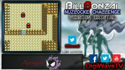 [BillBonzai] Le nuzlocke challenge sur pokemon crystal avec Alfeust (23/24)